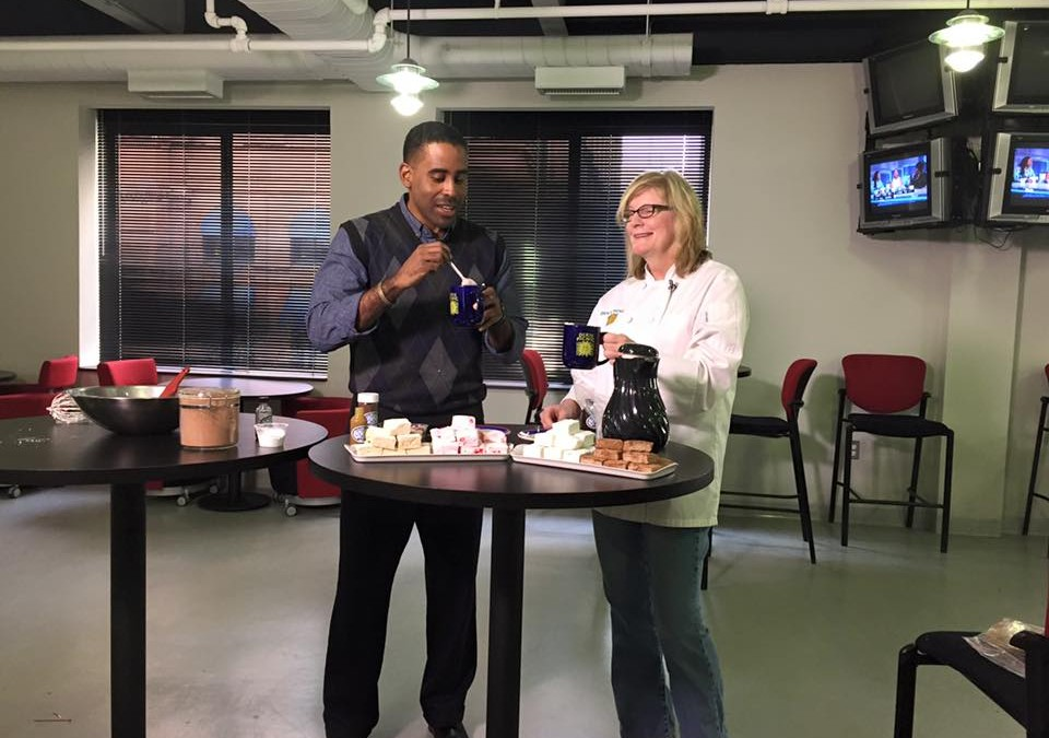Hot Cocoa on Fox 29 Good Day with Bill Anderson