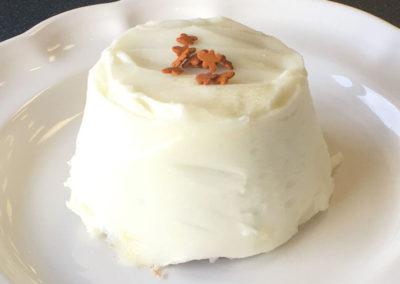 Lemon on Gingerbread Cake